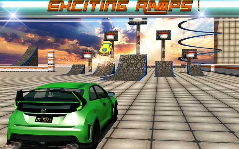 Extreme Car Stunts 3D Android Araba Oyunu indir