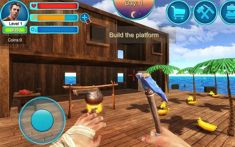 Ocean Survival 3D -2 Simülasyon Oyunu indir