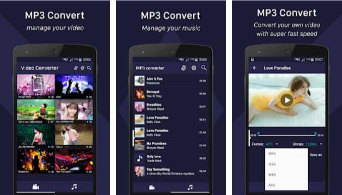 Android MP3 Dönüştürücü ve Müzik İndirme