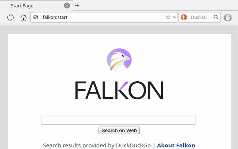 Windows ve Linux için Falkon Web Tarayıcı