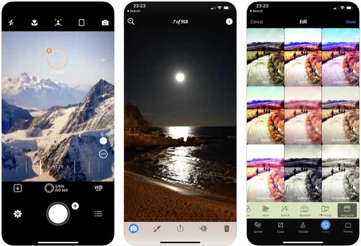 En İyi Selfie Uygulamaları İOS Camera +