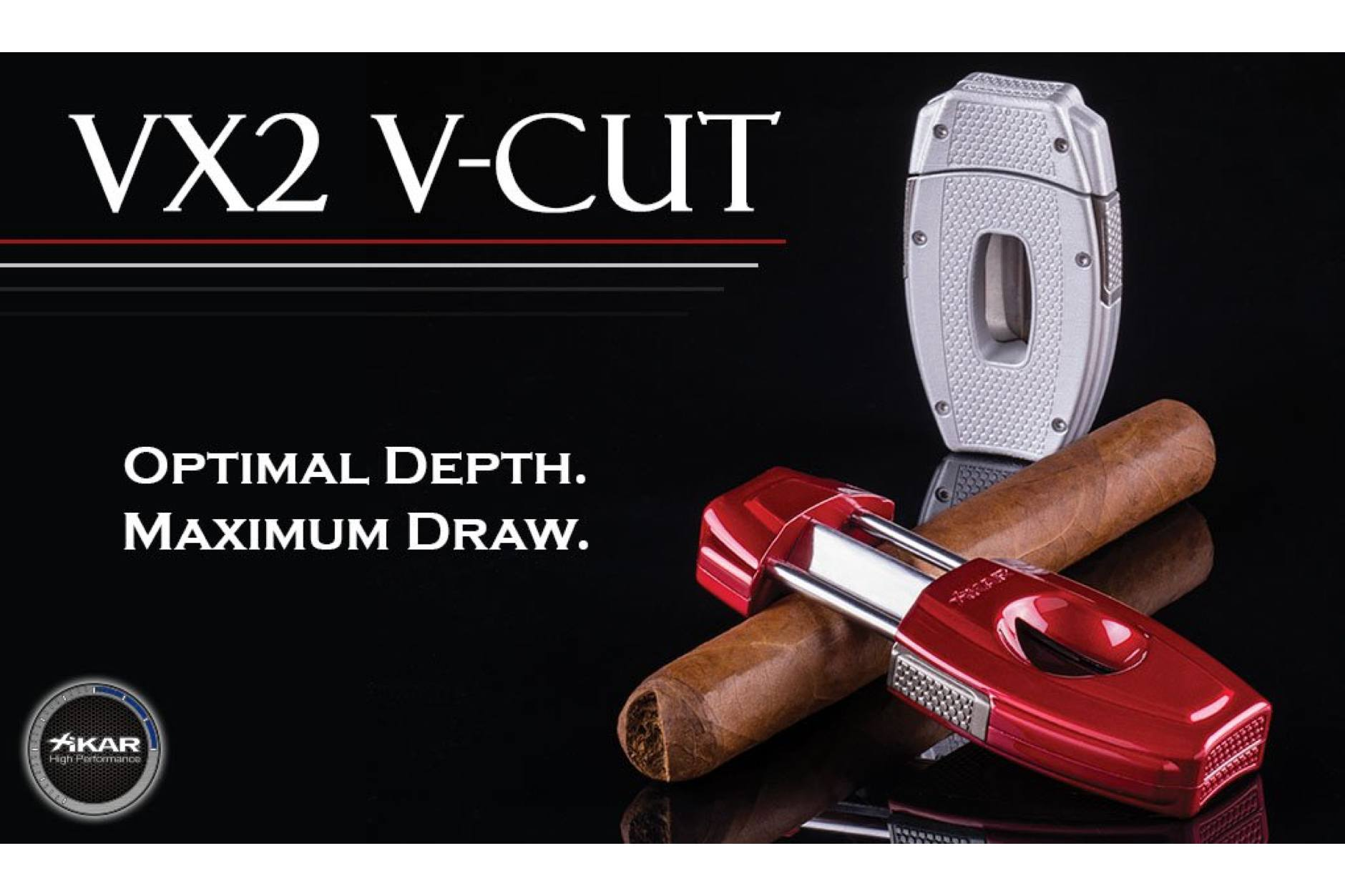 Xikar VX2 VCut  Silver