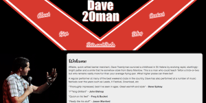 Dave Twentyman's website