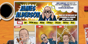 James Alderson's website