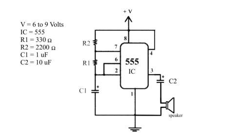 small resolution of 555 sound electronics hila science videos 555 sound 555 led flasher wiring diagram