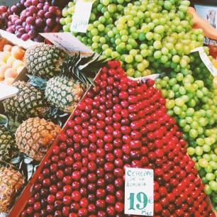 Central Mercado in Barcelona, Spain