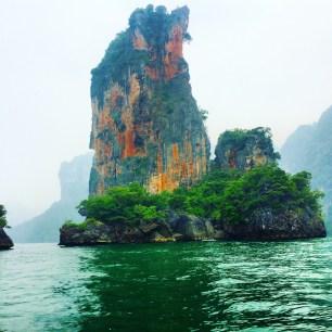 beautiful cliff scenery