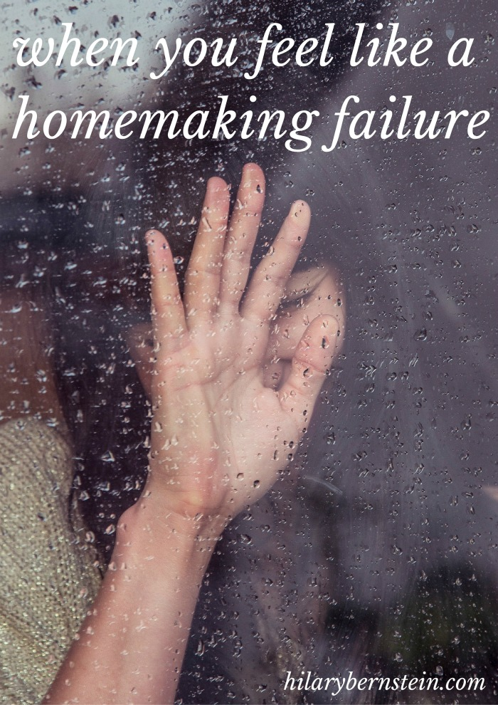 Feel like a homemaking failure? It's OK ... you can start making a difference with small changes.