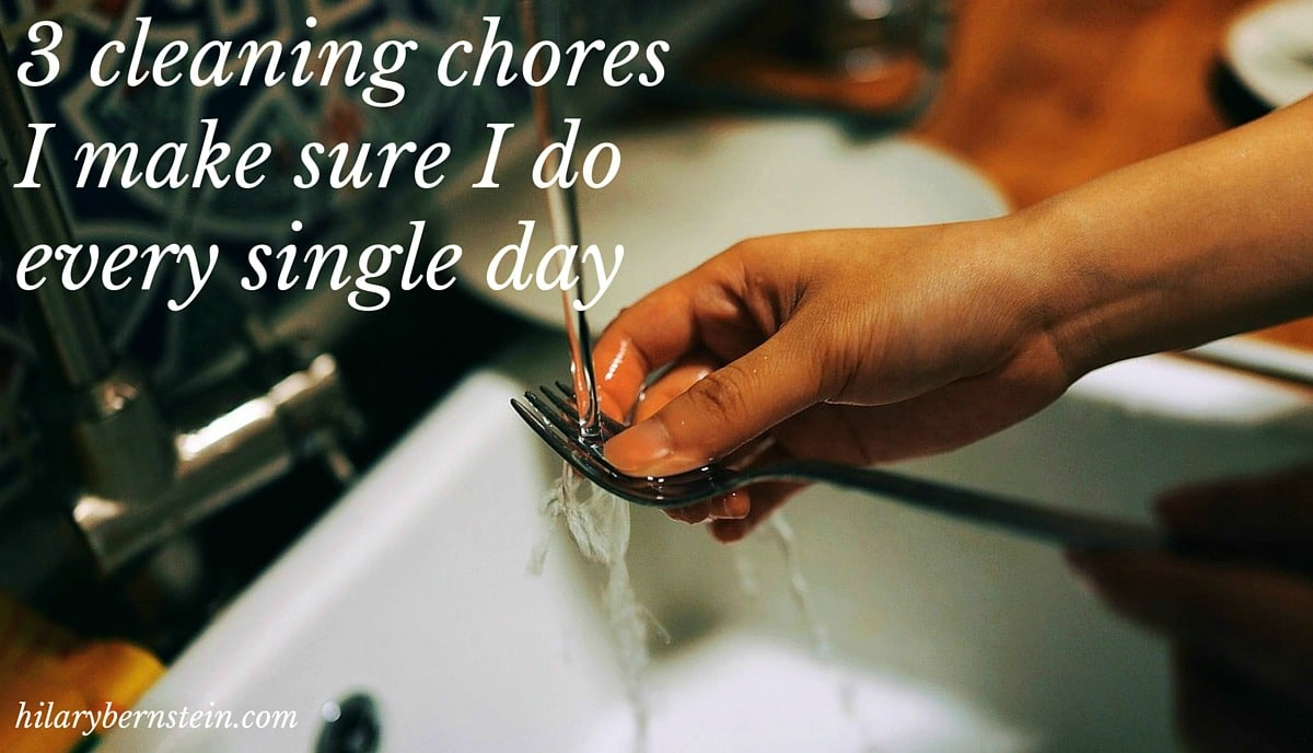 Trying to manage your home? Here are 3 cleaning chores I make sure to do every single day...