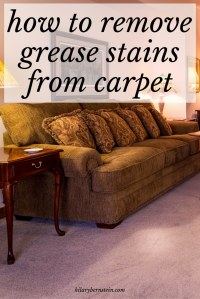 remove grease stains from carpet  Floor Matttroy