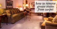 How to Remove Grease Stains from Carpet  No Place Like Home