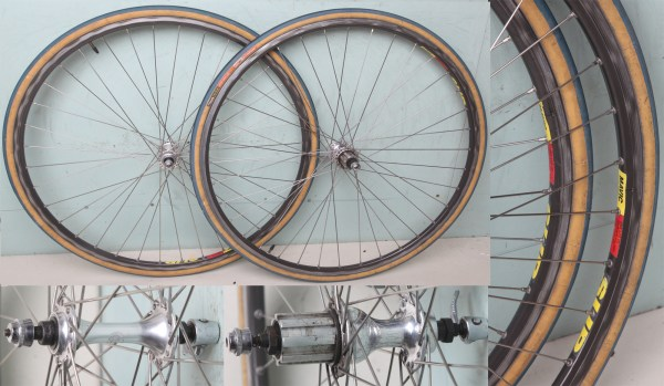 Hilary Stone Clincher Wheels With Cassette Hubs