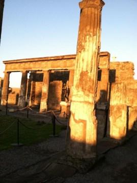 #sunsetoverpompeii