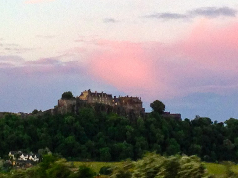 #stirlingcastlesunset
