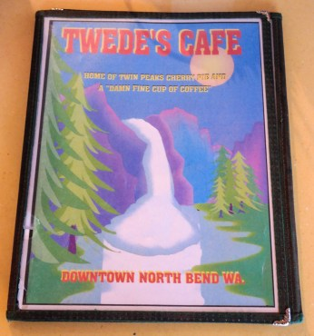 Tweed's Actual Menu