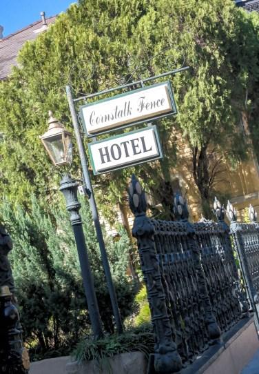 #Cornstalkfencehotel