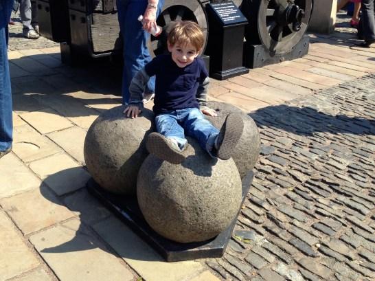 Mons Meg Cannon Balls