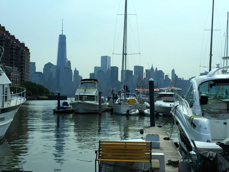 View of The Freedom Tower from Jersey City