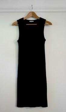 James Perse Melange Rib Tunic Dress