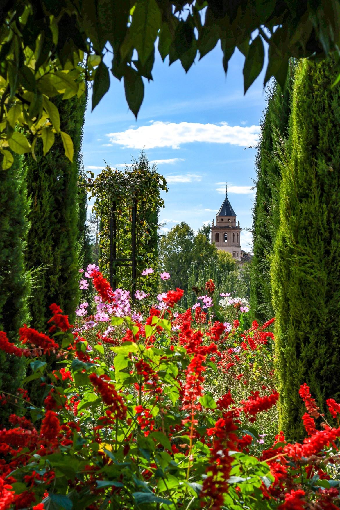 Generalife Gardens Alhambra Spain