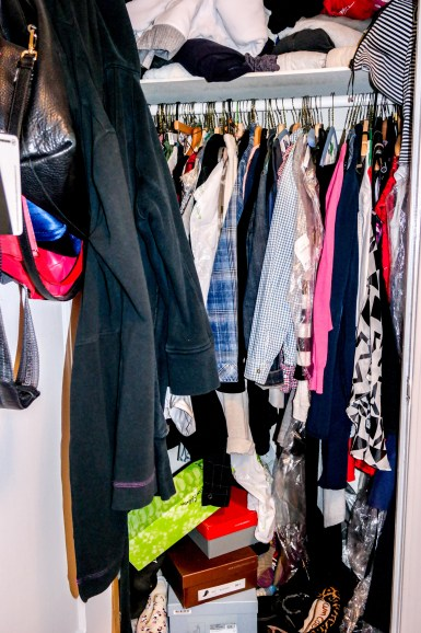 When your closet attacks it's time...