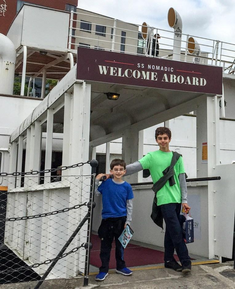 SS Nomadic a mini Titanic
