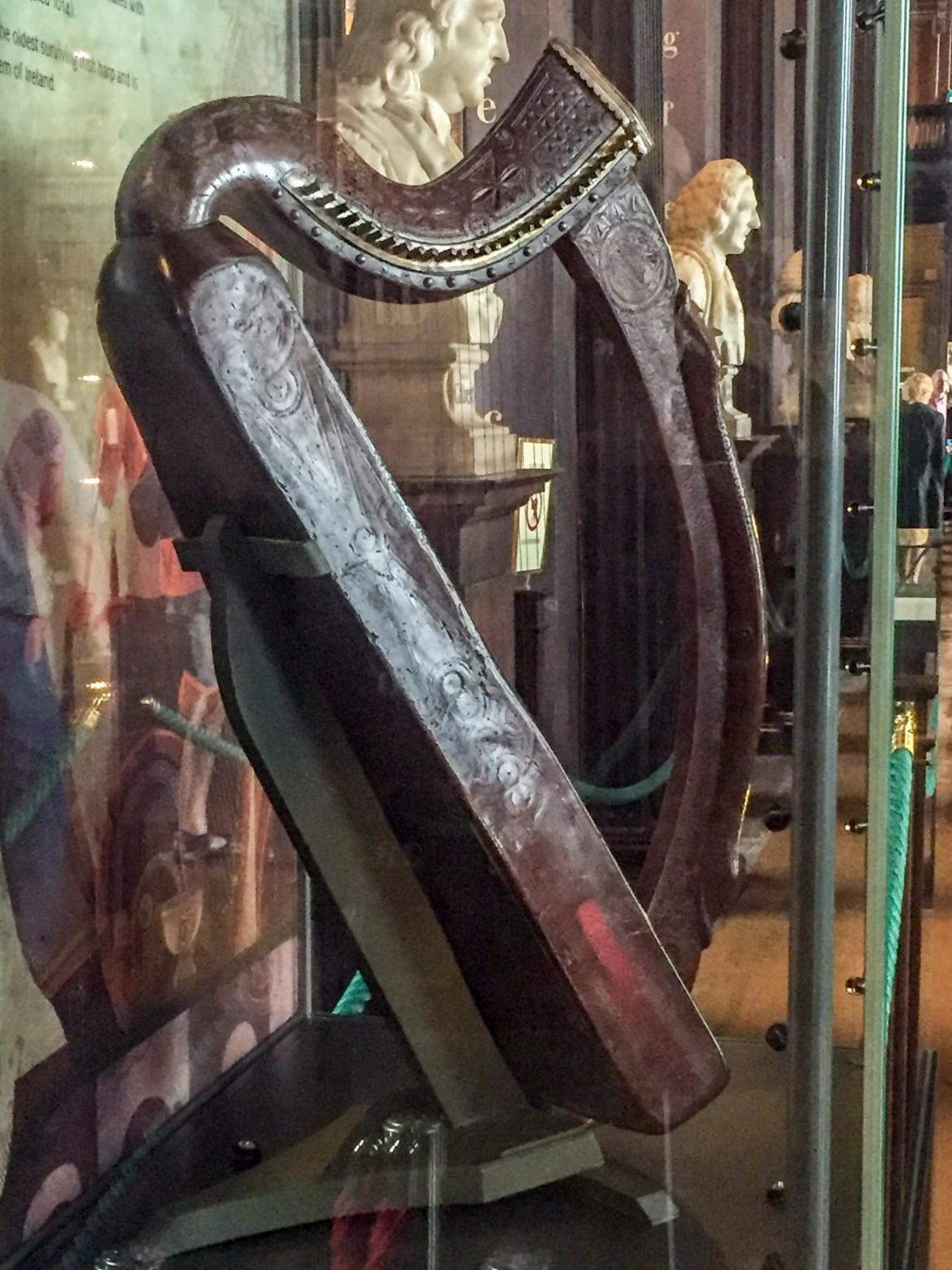 Dublin Old Library Brian Boru Harp