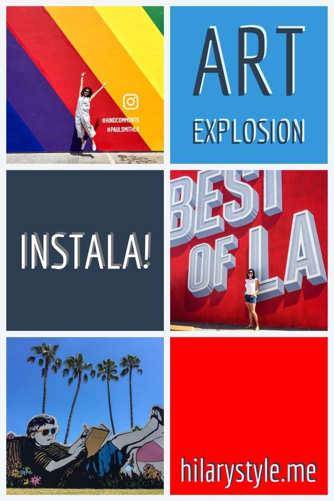 Instagrammable Los Angeles California Street Art
