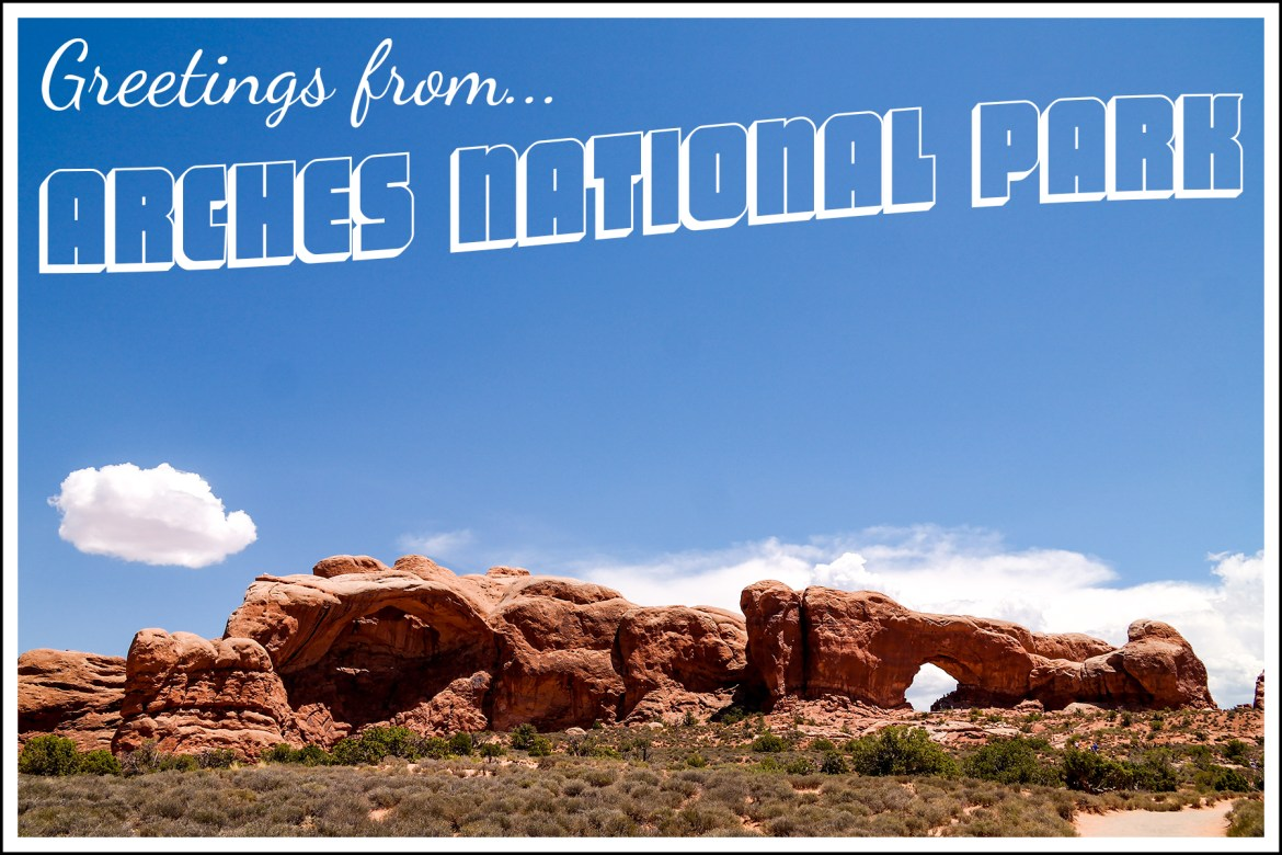 Arches National Park with kids