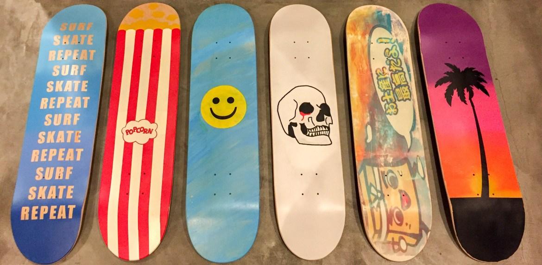DIY: Skateboard Decks | HilaryStyle on homemade grip tape designs, cool longboard deck designs, homemade shirt designs, sean malto girl skateboards designs, homemade mirror designs, homemade shoes designs, homemade longboard designs,