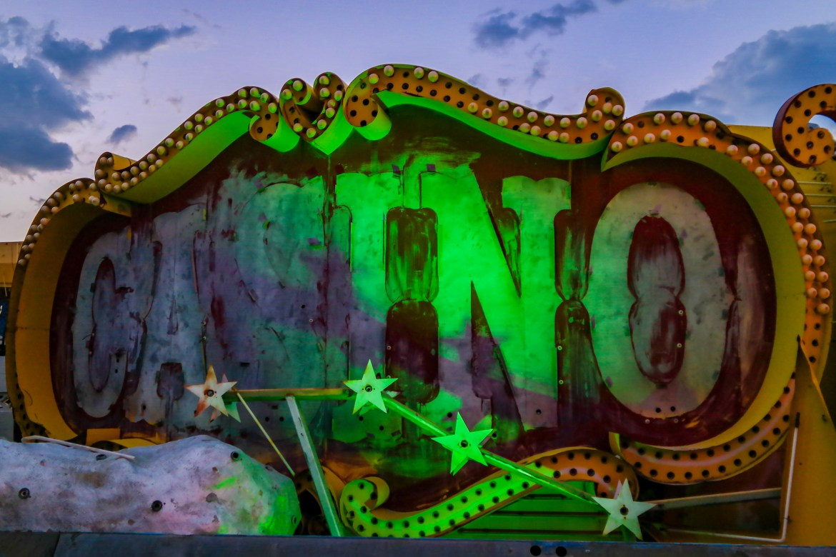 Things do in Las Vegas with Kids Neon Museum
