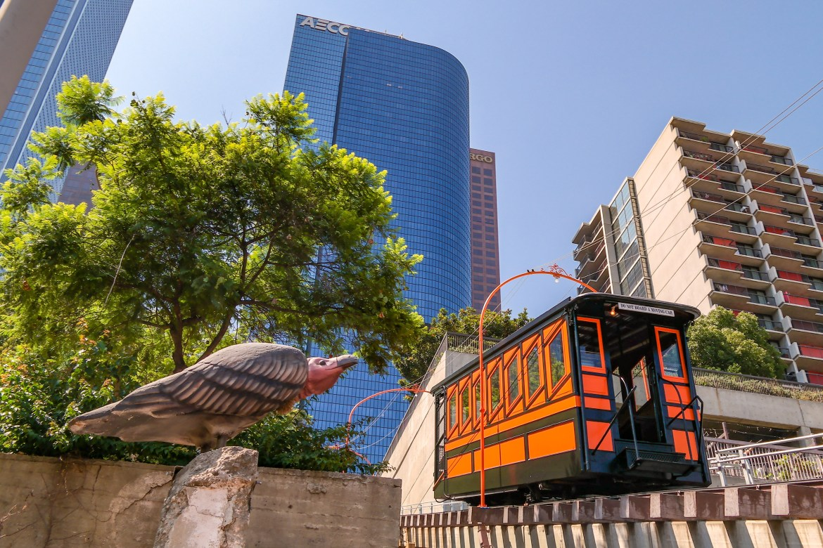 Angeles Flight Railway Things to do in Los Angeles #angelsflight