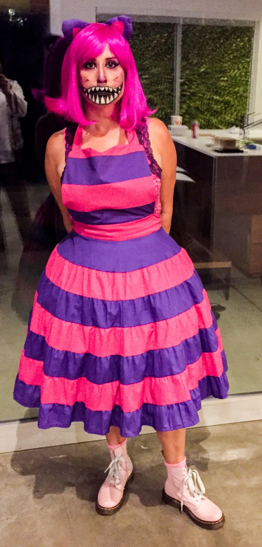 Cheshire Cat Costume Halloween 2017 Los Angeles California #cheshirecatcostume