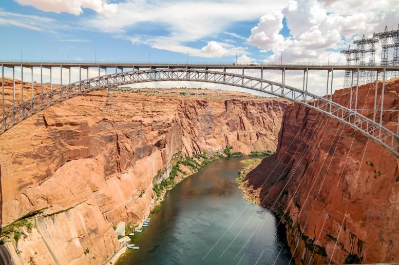Glen Canyon Dam Page Arizona #glencanyon