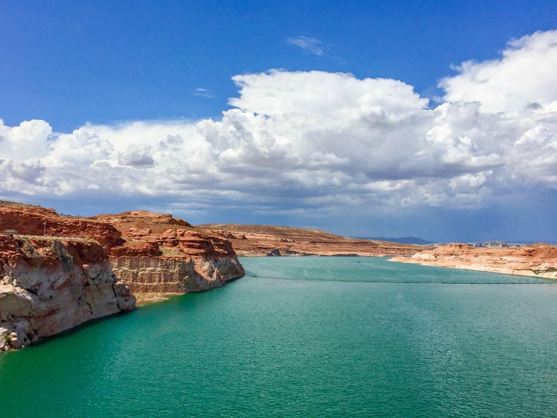 Glen Canyon Dam Page Arizona #lakemead