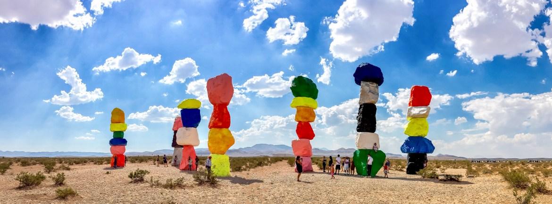 Seven Magic Mountains Las Vegas #sevenmagicmountains