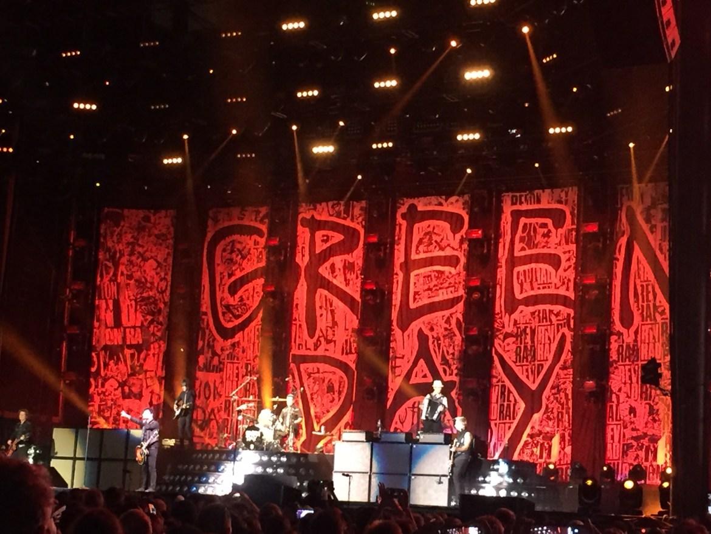 Green Day Rose Bowl Los Angeles California