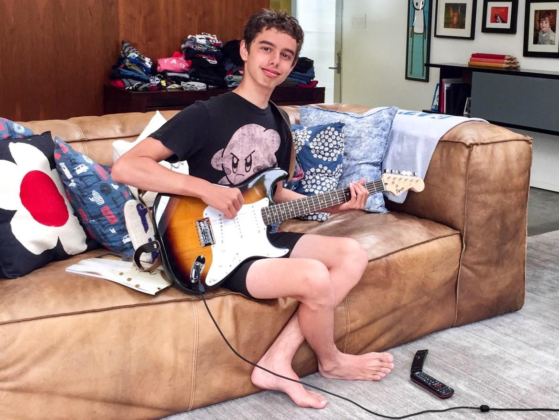 Guitar Player Los Angeles California