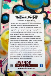 Berlin Wall Los Angeles California #wendemuseum