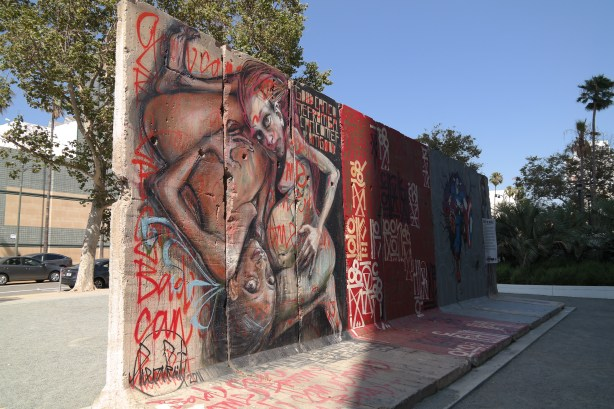 Berlin Wall Los Angeles California #behindthewall