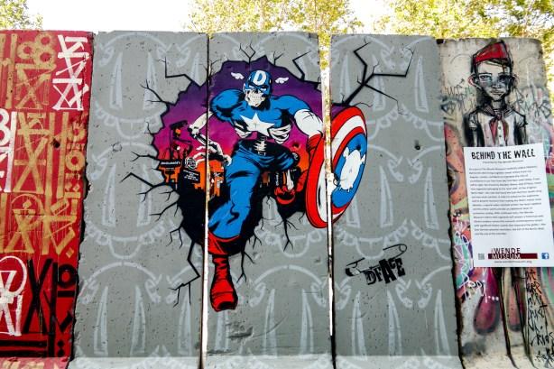 Berlin Wall Los Angeles California #dface