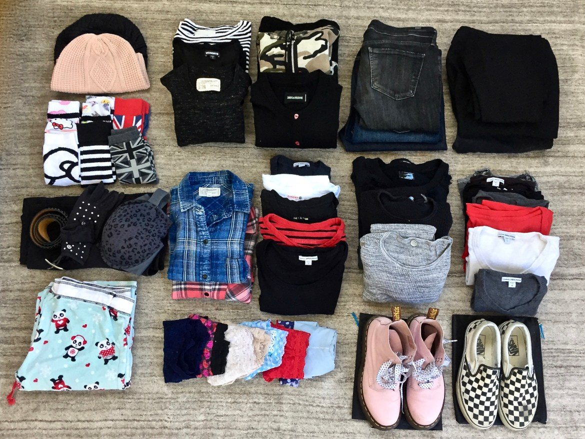 Winter Packing List Away Suitcase Los Angeles California