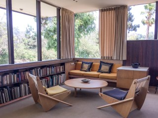 The Neutra House Los Angeles California