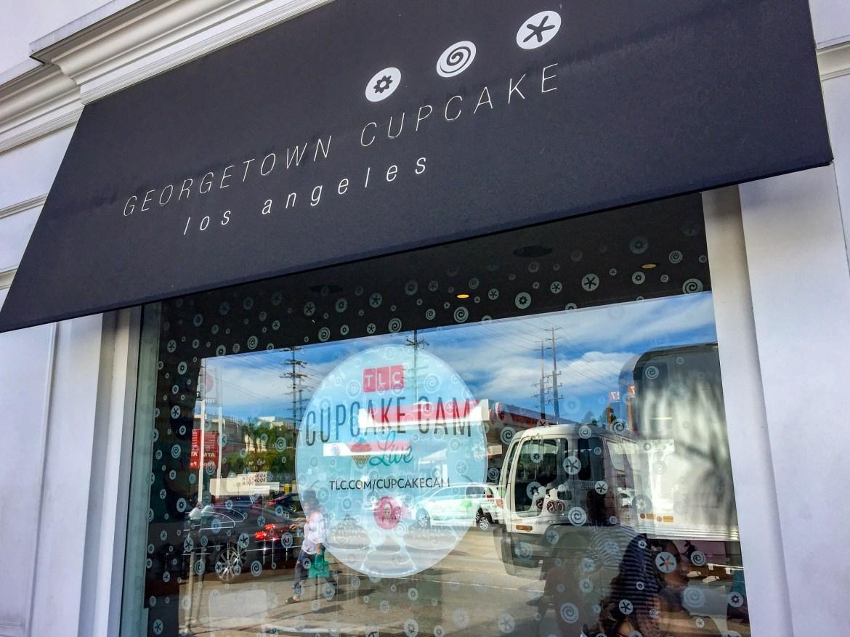Georgetown Cupcake Los Angeles California