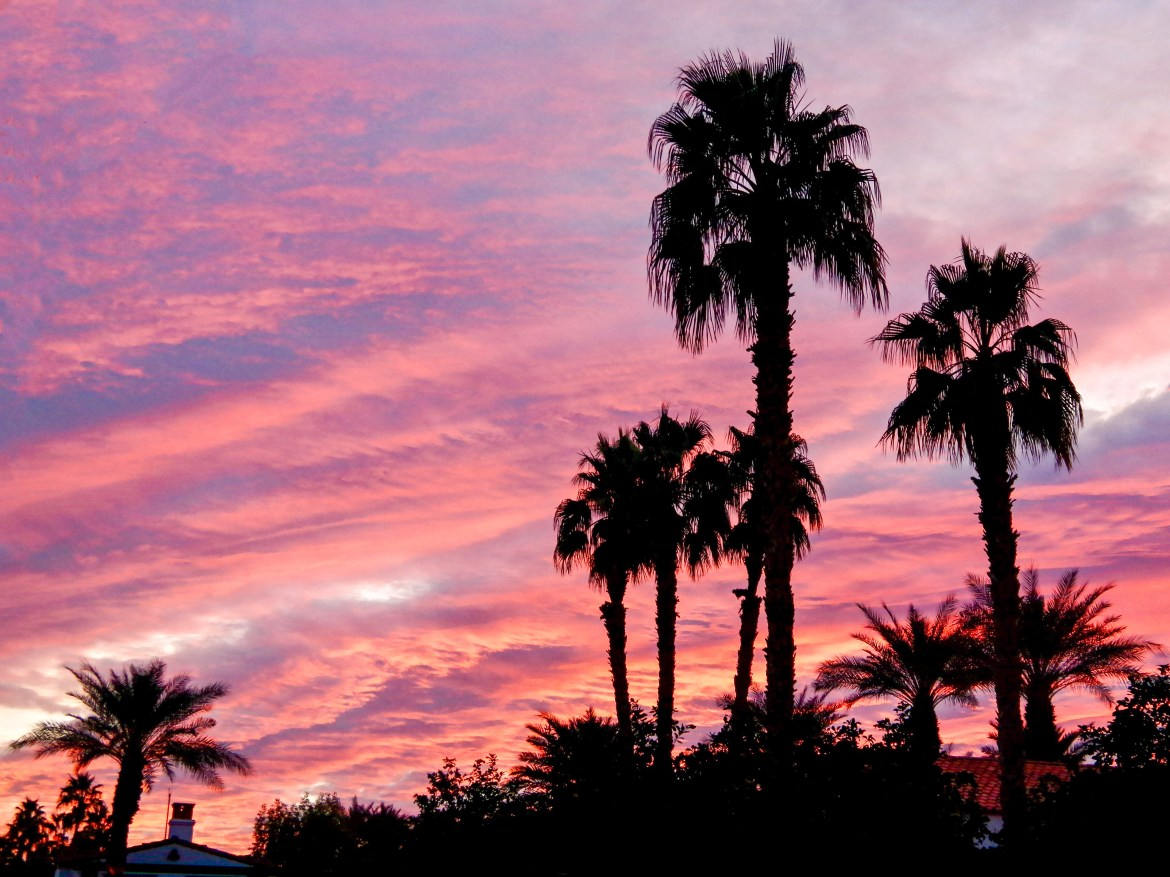 Sunrise over La Quinta