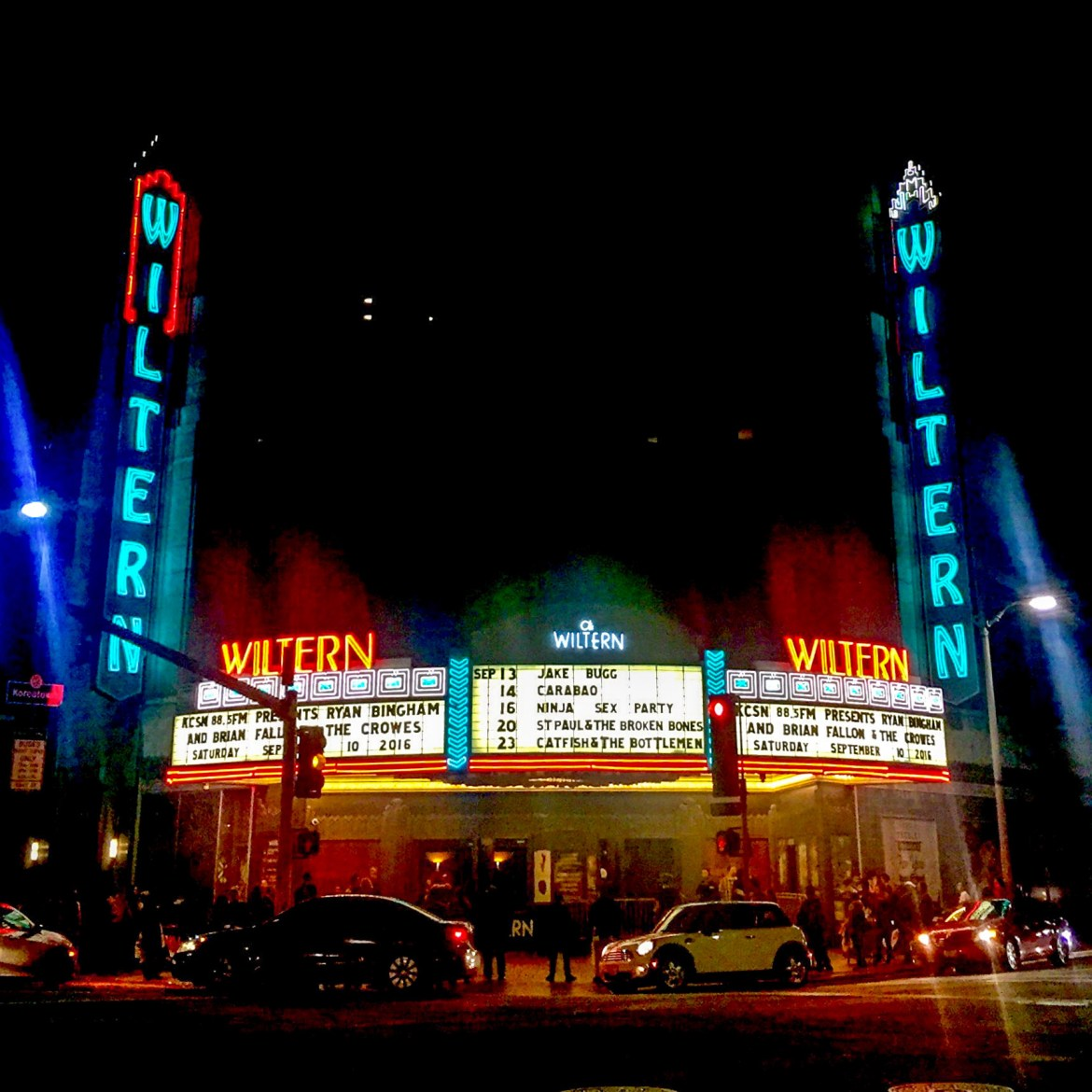 Wiltern Korea Town Los Angeles California