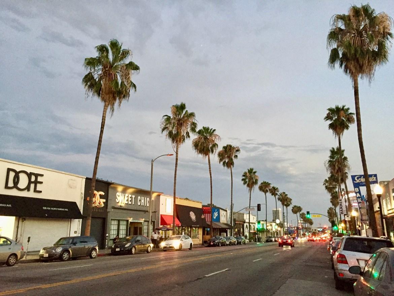 Fairfax Avenue Los Angeles California