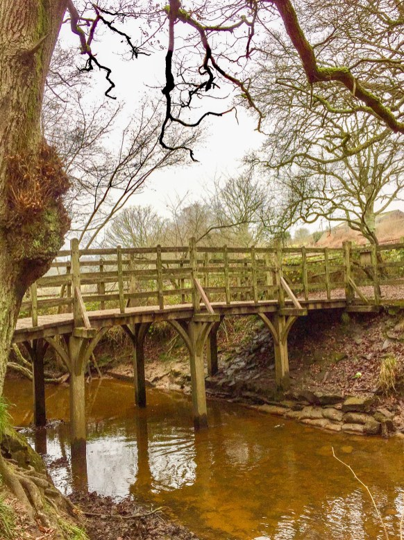 Poohsticks Bridge Ashdown Forest England