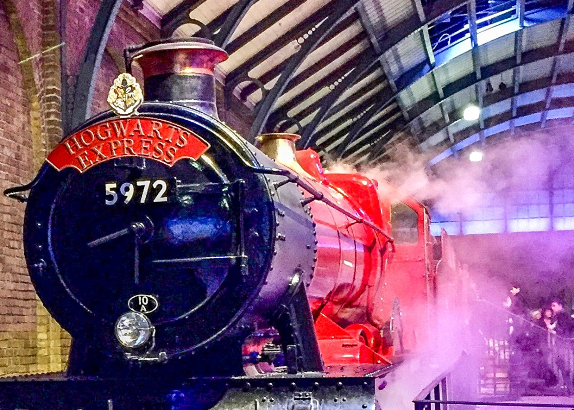Harry Potter WB Studio Tours London with Kids