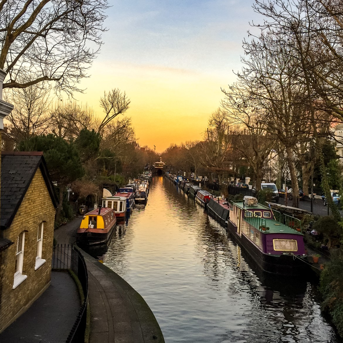 London walks with kids #littlevenice